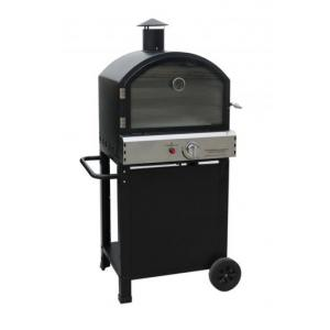 Gasbarbecues BBGrill buitenoven Fresno zwart