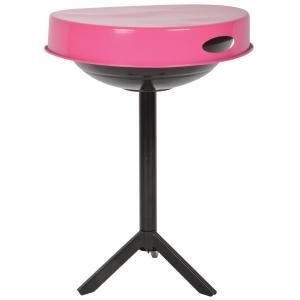 Houtskool barbecues Barbecue tafel roze