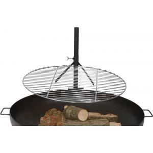 Houtskool barbecues Dallas vuurschaal BBQ rooster 60cm