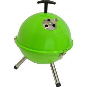 Houtskool barbecues Tafelbarbecue rond groen