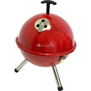 Houtskool barbecues Tafelbarbecue rond rood