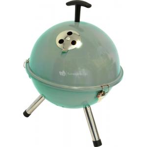 Houtskool barbecues Tafelbarbecue rond turquoise
