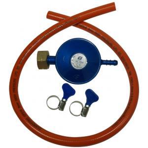 Accessoires BBQ Gasdrukregelaar 30 mbar + slang 3/8