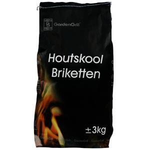 Accessoires Barbecue briketten - 3.0 KG